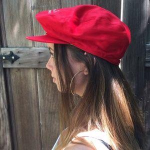 Red Trendy Cap
